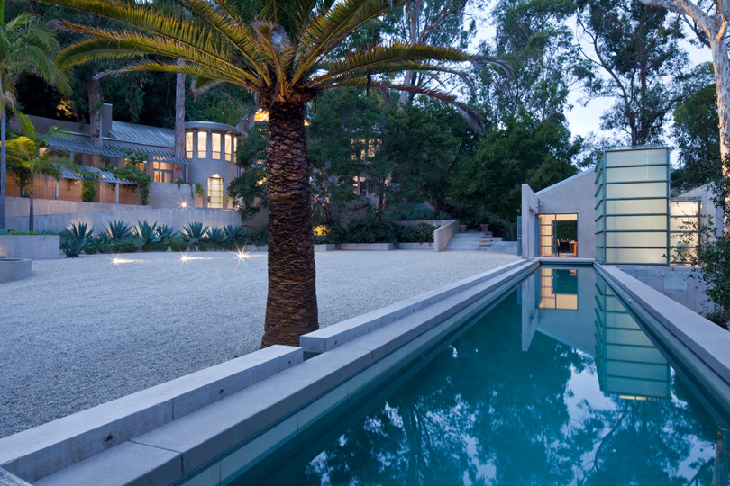 Rustic Canyon Poolhouse
